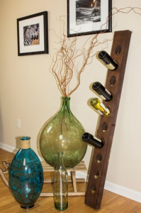 10 - Bottle Champagne Riddling Rack