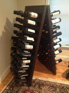 120 - Bottle Champagne Riddling Rack