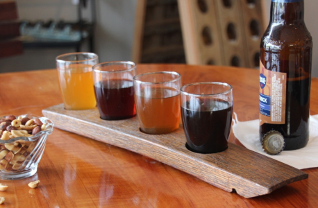Four Glass Beer Flight Stave