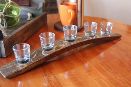 5-Shot Glass Holder