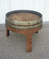 Barrel Short Side Table